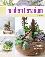 Modern Terrarium Studio Design + Build Custom Landscapes with Succulents, Air Plants + More by Megan George