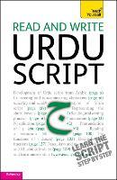 Read and write Urdu script: Teach yourself by Richard Delacy