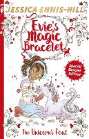 Evie's Magic Bracelet: The Unicorn's Foal Book 4: A bumper Christmas special! by Jessica Ennis-Hill, Elen Caldecott