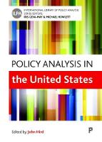 Policy analysis in the United States by John A. Hird