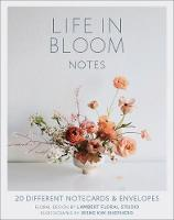Life in Bloom Notes 20 Different Notecards & Envelopes by Floral Design