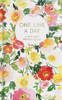 Floral One Line a Day A Five-Year Memory Book by Yao Cheng