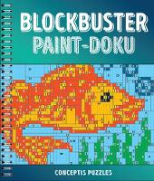 Blockbuster Paint-Doku by Conceptis Puzzles