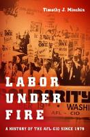 Labor Under Fire A History of the AFL-CIO since 1979 by Timothy J. Minchin