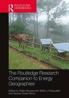 The Routledge Research Companion to Energy Geographies by Stefan Bouzarovski