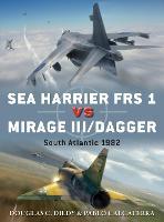Sea Harrier FRS 1 vs Mirage III/Dagger South Atlantic 1982 by Doug Dildy, Pablo Calcaterra