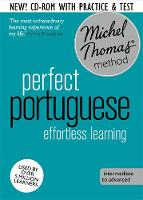 Perfect Portuguese Intermediate Course: Learn Portuguese with the Michel Thomas Method by Virginia Catmur