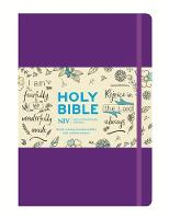 NIV Purple Single-Column Journalling Bible by New International Version