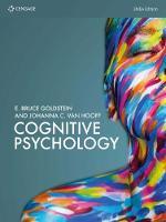 Cognitive Psychology by Johanna (University of Amsterdam) Van Hooff, E. (University of Pittsburgh and University of Arizona) Goldstein