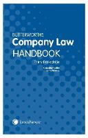 Butterworths Company Law Handbook by Keith Walmsley