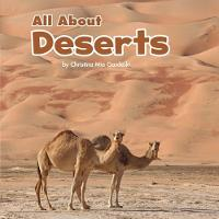 All About Deserts by Christina Mia Gardeski