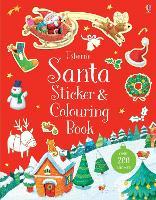 Santa Sticker and Colouring Book by Sam Taplin