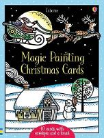 Magic Painting Christmas Cards by Fiona Watt
