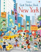First Sticker Book New York by James MacLaine