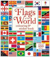 Flags of the World Colouring & Sticker Book by Susan Meredith
