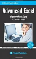 Advanced Excel Interview Questions You'll Most Likely be Asked by Vibrant Publishers