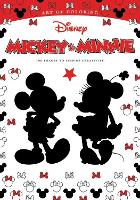 Art Of Coloring: Mickey Mouse And Minnie Mouse 100 Images To Inspire Creativity by Disney Book Group