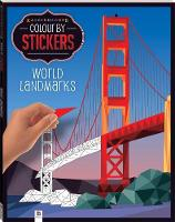 Kaleidoscope Colour by Stickers: World Landmarks by