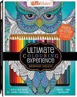 Art Maker Magnificent Creatures Colouring Kit (portrait) by