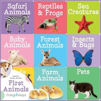 First Steps Chunky Board Books: Animals by