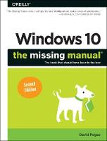 Windows 10 Creators Update - The Missing Manual 2e by David Pogue