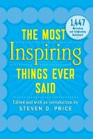 The Most Inspiring Things Ever Said by Steven (University of Wales Bangor) Price
