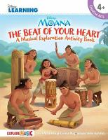 Moana The Beat Of Your Heart (Book/Download) by Disney Learning