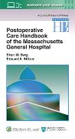 Postoperative Care Handbook of the Massachusetts General Hospital by Sheri M. Berg, Edward A. Bittner