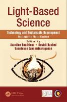 Light-Based Science, Technology and Sustainable Development The Legacy of Ibn al-Haytham by Azzedine (University Paris 13, Villetaneuse, France) Boudrioua
