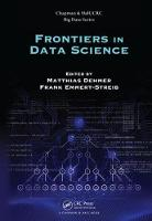 Frontiers in Data Science by Matthias Dehmer