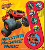 Blaze Monster Machines Little Music Note by PI Kids
