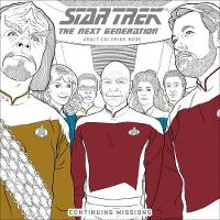 Star Trek: The Next Generation Adult Coloring Book Continuing Missions by CBS