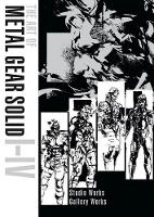 Art Of Metal Gear Solid I-iv by Yoji Shinkawa