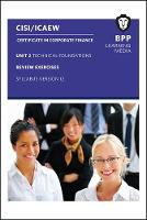 CISI Capital Markets Programme Certificate in Corporate Finance Unit 2 Syllabus Version 12 Review Exercises by BPP Learning Media
