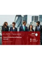 ICAEW Financial Accounting and Reporting GAAP Passcards by BPP Learning Media