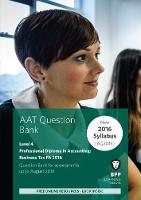 AAT Business Tax FA2016 (2nd Edition) Question Bank by BPP Learning Media