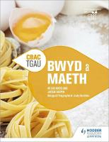 CBAC TGA Bwyd a Maeth (WJEC GCSE Food and Nutrition Welsh-language edition) by Helen Buckland, Jacqui Keepin