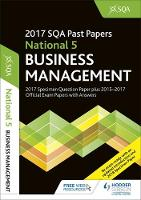 National 5 Business Management 2017-18 SQA Specimen and Past Papers with Answers by SQA