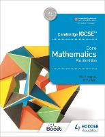 Cambridge IGCSE Core Mathematics 4th edition by Ric Pimentel, Terry Wall