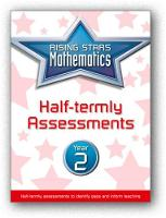 Rising Stars Mathematics Year 2 Half-termly Assessments by Steph King