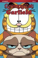 Grumpy Cat & Garfield by Mark Evanier, Steve Uy