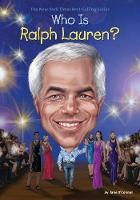 Who Is Ralph Lauren? by Jane (Birmingham City University UK) O'Connor, Who Hq