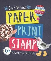 Paper Print Stamp by Susie Brooks