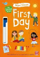 I'm Starting School: First Day Wipe-clean book with pen by Pat-a-Cake