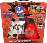 Erupting Volcano 15-Piece Erupting Volcano Kit! by Parragon Books Ltd