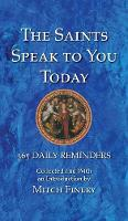The Saints Speak to You Today by Mitch Finley