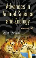 Advances in Animal Science & Zoology by Owen P. Jenkins