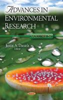 Advances in Environmental Research Volume 57 by Justin A Daniels