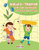 Nature-Themed Grid Copy Exercises Drawing Book for Children by Speedy Kids