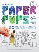 Paper Pups Coloring Book Paper Pups 3-D Coloring! by PaperMade